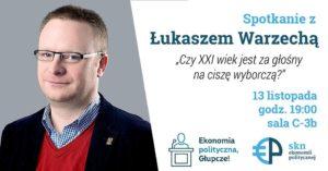Łukasz Warzecha wydarzenie